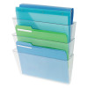 Deflecto Linked Wall File Pocket A4 (Pack of 3) DE736YTCRY