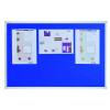 Felt Pin Board X-tra!Line® 90x60cm Blue