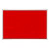 Felt Pin Board X-tra!Line® 120x90cm Red