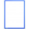 Document Holder X-tra!Line® DIN A3 Magnetic Blue 1 Piece