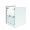 Graviti Plus Contract 2 Drawer Filing Cabinet Chalky White