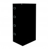 Graviti Plus Contract 4 Drawer Filing Cabinet Black