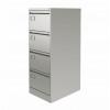 Graviti Plus Contract 4 Drawer Filing Cabinet Goose Grey