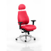 Chiro Plus Headrest Bespoke Colour Post Box Red