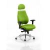 Chiro Plus Headrest Bespoke Colour Lime