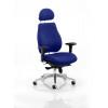 Chiro Plus Headrest Bespoke Colour Admiral Blue