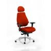 Chiro Plus Headrest Bespoke Colour Orange