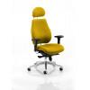 Chiro Plus Headrest Bespoke Colour Yellow