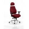 Chiro Plus Headrest Bespoke Colour Maroon