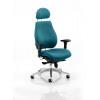 Chiro Plus Headrest Bespoke Colour Teal