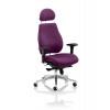 Chiro Plus Headrest Bespoke Colour Purple