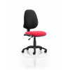Eclipse I Lever Task Operator Chair Bespoke Colour Seat Post Box Red