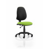 Eclipse I Lever Task Operator Chair Bespoke Colour Seat Lime
