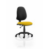 Eclipse I Lever Task Operator Chair Bespoke Colour Seat Yellow