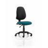 Eclipse I Lever Task Operator Chair Bespoke Colour Seat Teal