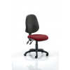 Eclipse II Lever Task Operator Chair Bespoke Colour Seat Maroon
