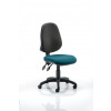 Eclipse II Lever Task Operator Chair Bespoke Colour Seat Teal