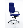 Xenon Headrest White Shell Bespoke Colour Admiral Blue