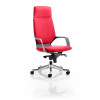 Xenon Headrest Black Shell Bespoke Colour Post Box Red