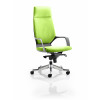 Xenon Headrest Black Shell Bespoke Colour Lime