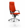 Xenon Headrest Black Shell Bespoke Colour Orange