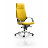 Xenon Headrest Black Shell Bespoke Colour Yellow