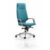 Xenon Headrest Black Shell Bespoke Colour Teal