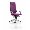 Xenon Headrest Black Shell Bespoke Colour Purple