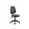 Eclipse II Lever Task Operator Chair Charcoal Without Arms
