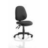 Luna II Lever Task Operator Chair Black Without Arms