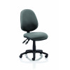 Luna II Lever Task Operator Chair Charcoal Without Arms