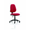 Eclipse I Lever Task Operator Chair Wine Without Arms