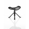 Ergo-Dynamic Footstool Black Frame Black Mesh