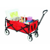 Collapsible Red Utility Trolley