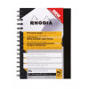 Rhodia Black A5 Wirebound Business Book (Pack of 3) 119233C