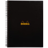 Rhodia Meeting A4 Book Wirebound Hardback Black 160 Pages (Pack of 3) 119238C