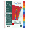 Exacompta Europa Coloured Pressboard Index 12-Part January-December A4 3109Z
