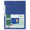 Exacompta Europa Portfolio File A4 Dark Blue (Pack of 10) 55502SE