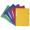 Exacompta Europa Portfolio File A4 Assorted (Pack of 10) 55515E