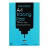 Goldline Popular Tracing Pad 63gsm Acid-free Paper 50 Sheets A4 Ref GPT2A4Z [Pack 5]