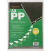 Goldline 10 Polypro Display Sleeves 6 Holes A2
