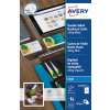 Avery Satin White Double Sided Laser Business Cards 85 x 54mm 220gsm Pack of 250 C32016-25