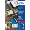 Avery Business Cards Double Sided Satin C32016-25 (250Cards)