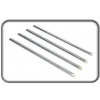 Avery Plated Riser Rods Silver 404Z-118 (PK4)