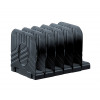 Avery Original Jumbo Magazine Rack Black 444BLK