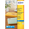 Avery QuickDRY White Inkjet Labels 99.1 x 93.1mm 6 Per Sheet Pack of 600 J8166-100