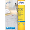Avery White Mini Labels 17.8x10mm J8659-25 (6750 Labels)