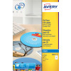 Avery FullFace CD Labels 117mm DIA J8676-25 (50 Labels)