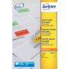 Avery Coloured Labels 63.5x34mm Yellow L6033-20 (480 Labels)