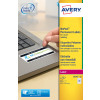 Avery NoPeel Label AntiTamper 45.7x25mm L6145-20 (800Labels)